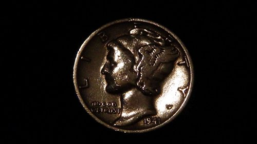 1941 Mercury Dime (S) Circulated