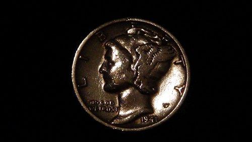 1941 Mercury Dime (S) Circulated