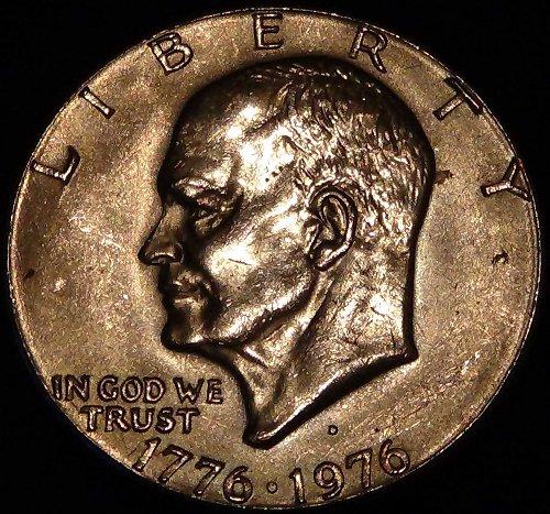 1976 D Eisenhower Dollar Good Condition