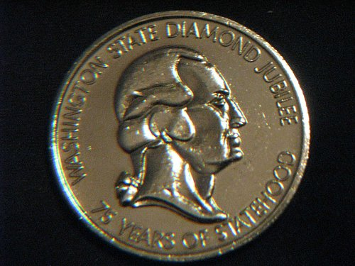 1964 Washington State Diamond Jubilee Medal