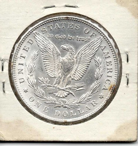 1888 MORGAN SILVER DOLLAR, UNCIRCULATED