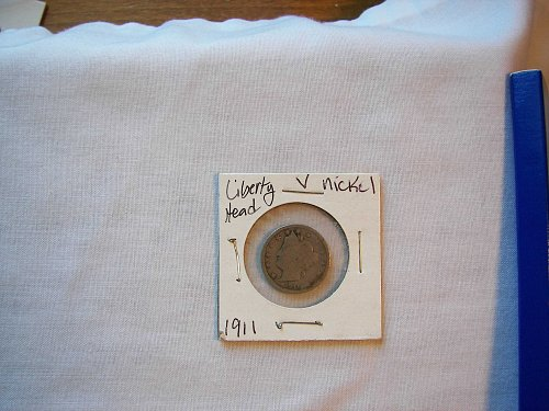 "1911 5C Liberty ""V"" Nickel"