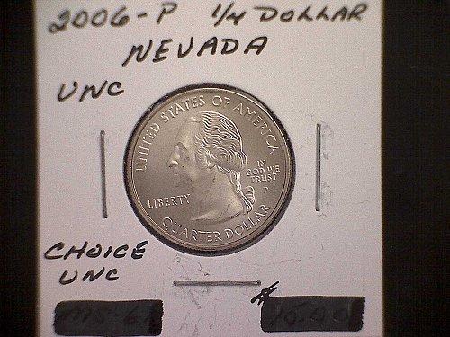 2006-P NEVADA WASHINGTON QUARTER