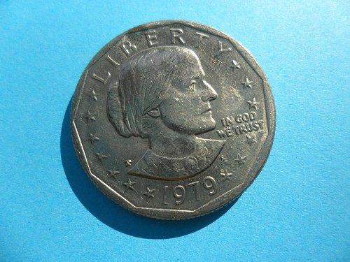 1979-P Susan B Anthony Dollar