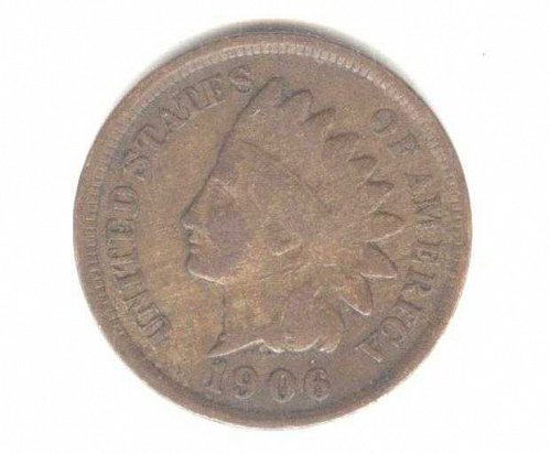 1906 Indian Head Cent  Nice Coin!