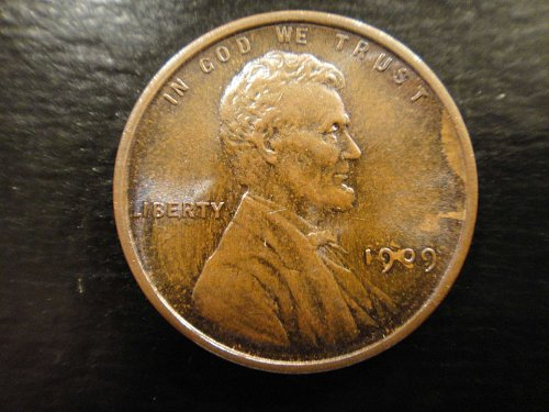 1909 VDB Lincoln Cent MS-64 (Near Gem) Brown+ FW (Full Wheat)