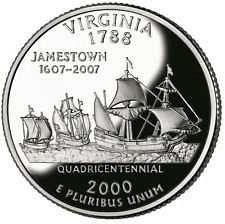 2000 S  PROOF  VIRGINIA STATE QUARTER