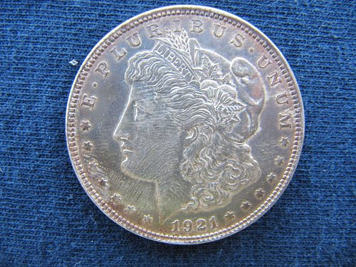 1921-P Morgan Dollar