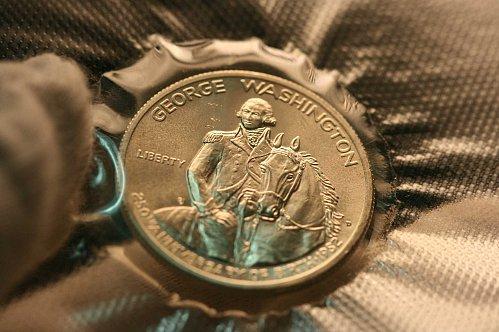 1982 D  George Washington half dollar