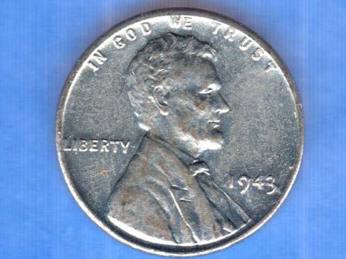Unc. 1943 Lincoln Head Penny U.S.Coin