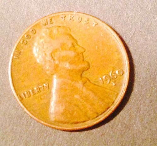 1960 D Large Date Lincoln Penny