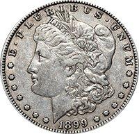 1899 S Morgan Dollar