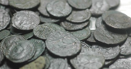 Great lot with roman cleaned Coins - TOPQUALITY