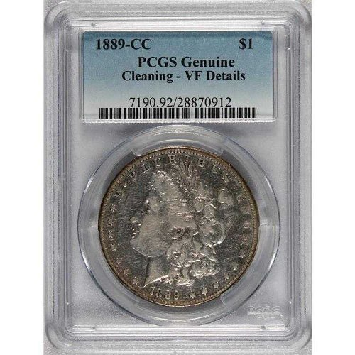 1889 CC Morgan Dollar PCGS Coin
