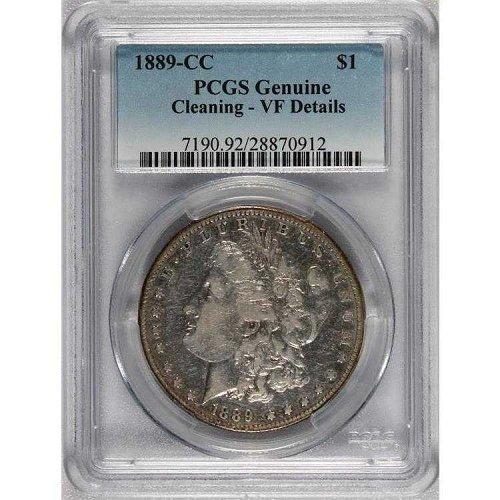 1889 CC Morgan Dollar PCGS Coin