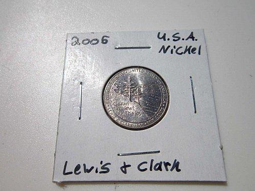 American Nickel 2005 - Lewis & Clark 'P'