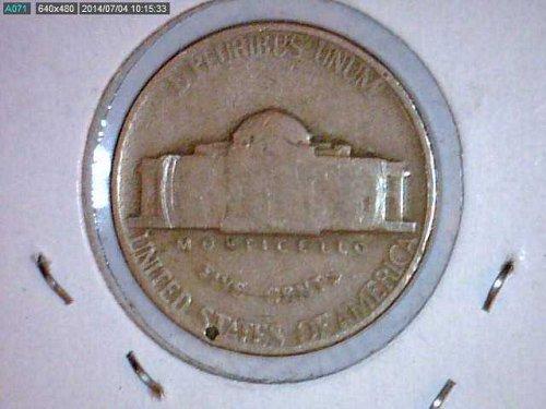 1952 Jefferson Nickel..Possible Error REV