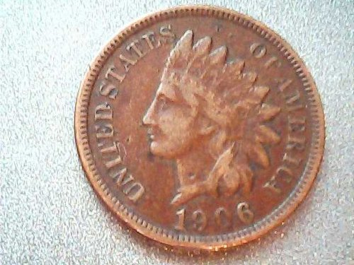 1906 Indian Head Cent-good LIBERTY !