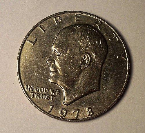"1978-P Eisenhower ""IKE"" Dollar"