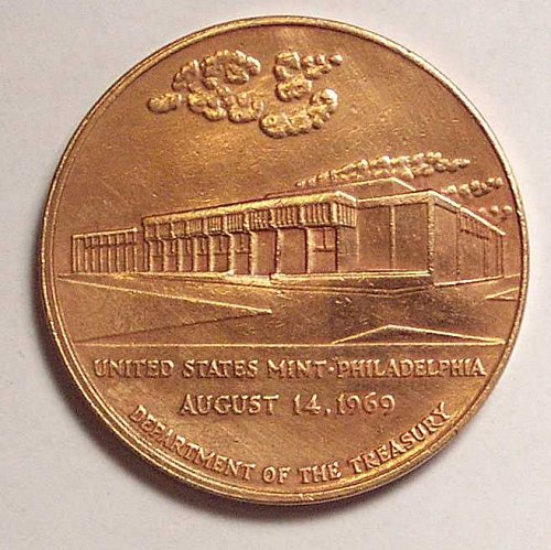 United States Mint Commemorative Bronze Medal United States Mint Philadelphia