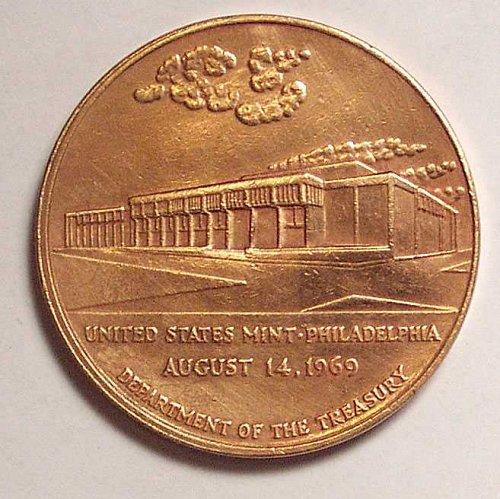 United States Mint Commemorative Bronze Medal United States Mint Philadelphia