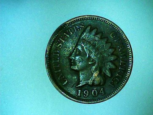 1904 Indian Head small cent