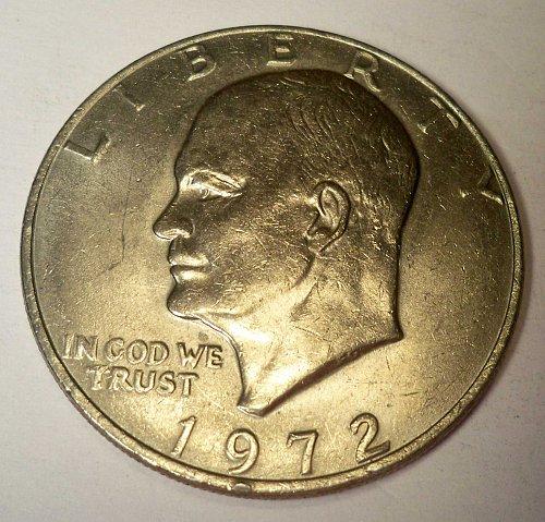 "1972 EISENHOWER ""IKE"" DOLLAR"