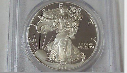 1995-W Proof American Silver Eagle-PCGS PR-69dcam rare key date!