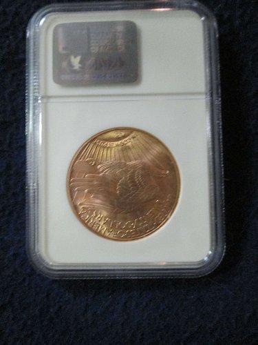 1924-P $20 St Gaudens Double Eagle MS 64