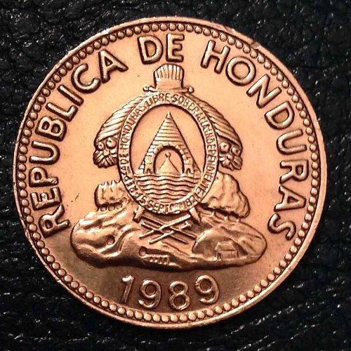 1989 Honduras 10 centavos coin