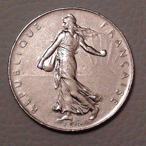 1976 1 Franc Coin France
