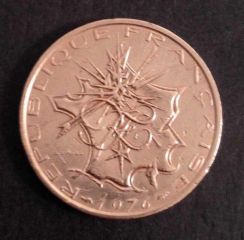 1976 France 10 Francs Coin