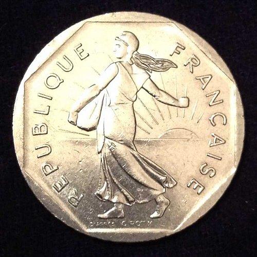 1979 2 Francs France Coin