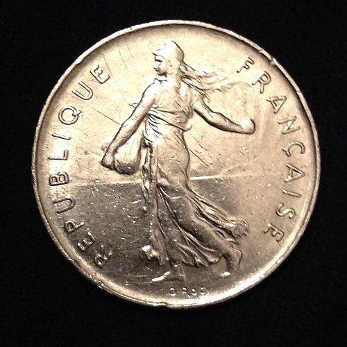 1973 5 Francs France Coin