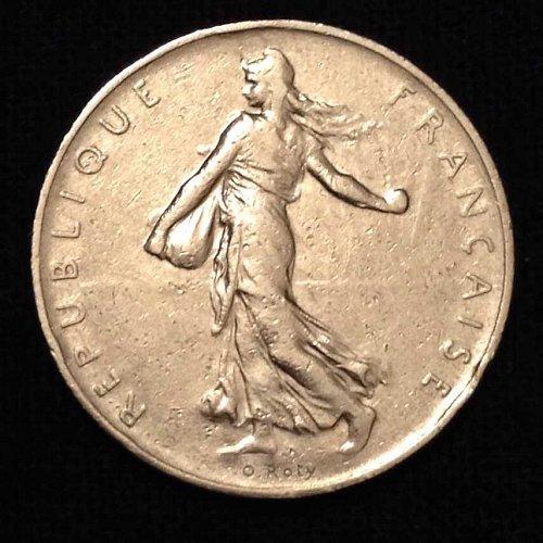 1960 1 Franc France Coin