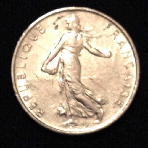1972 1/2 Franc France Coin