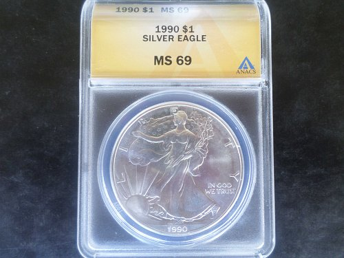 Exceptional 1990 Silver Eagle