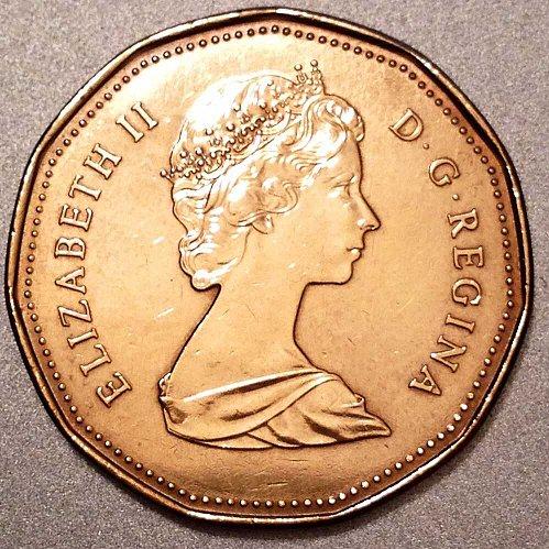 1988 Canada 1 Dollar Coin