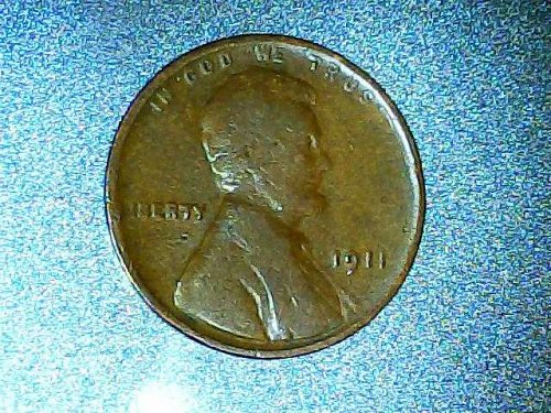 Lincoln Wheat small cent 1911 P