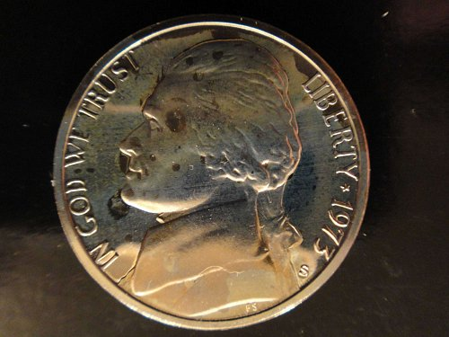 1973-S Jefferson Nickel Proof-65 (GEM)