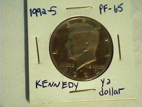 Kennedy 1992-S clad
