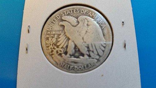 1920 P Walking Liberty Half Dollar Coin #2
