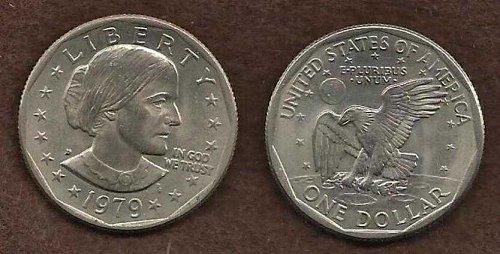 US 1 Dollar Susan B. Anthony Dollar 1979 D