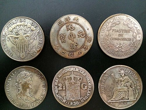 More than 150 years coins for sale