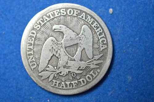 1853 O Seated Liberty Half Dollars: Rays on Reverse good quality