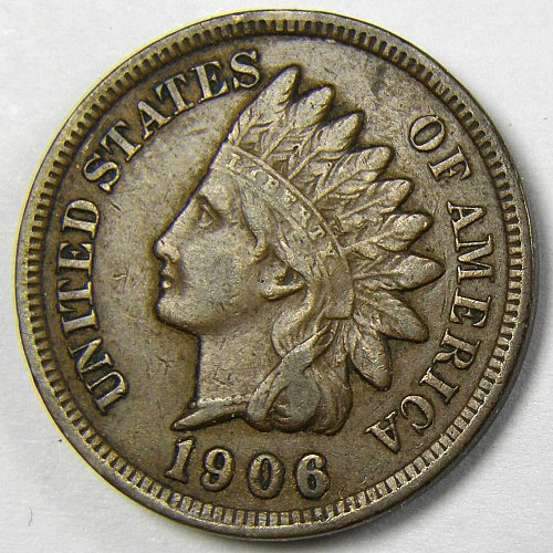1906 P Indian Head Cent #2