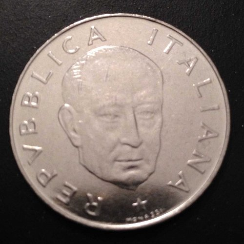 1974 L.100 Italian coin