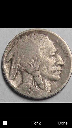 1927 S Buffalo nickle