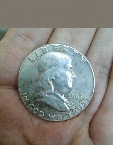 1963 P Franklin Half Dollar! 90% Silver!