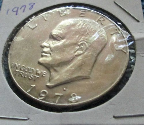 DWIGHT EISENHOWER 1978 DOLLAR  COIN D